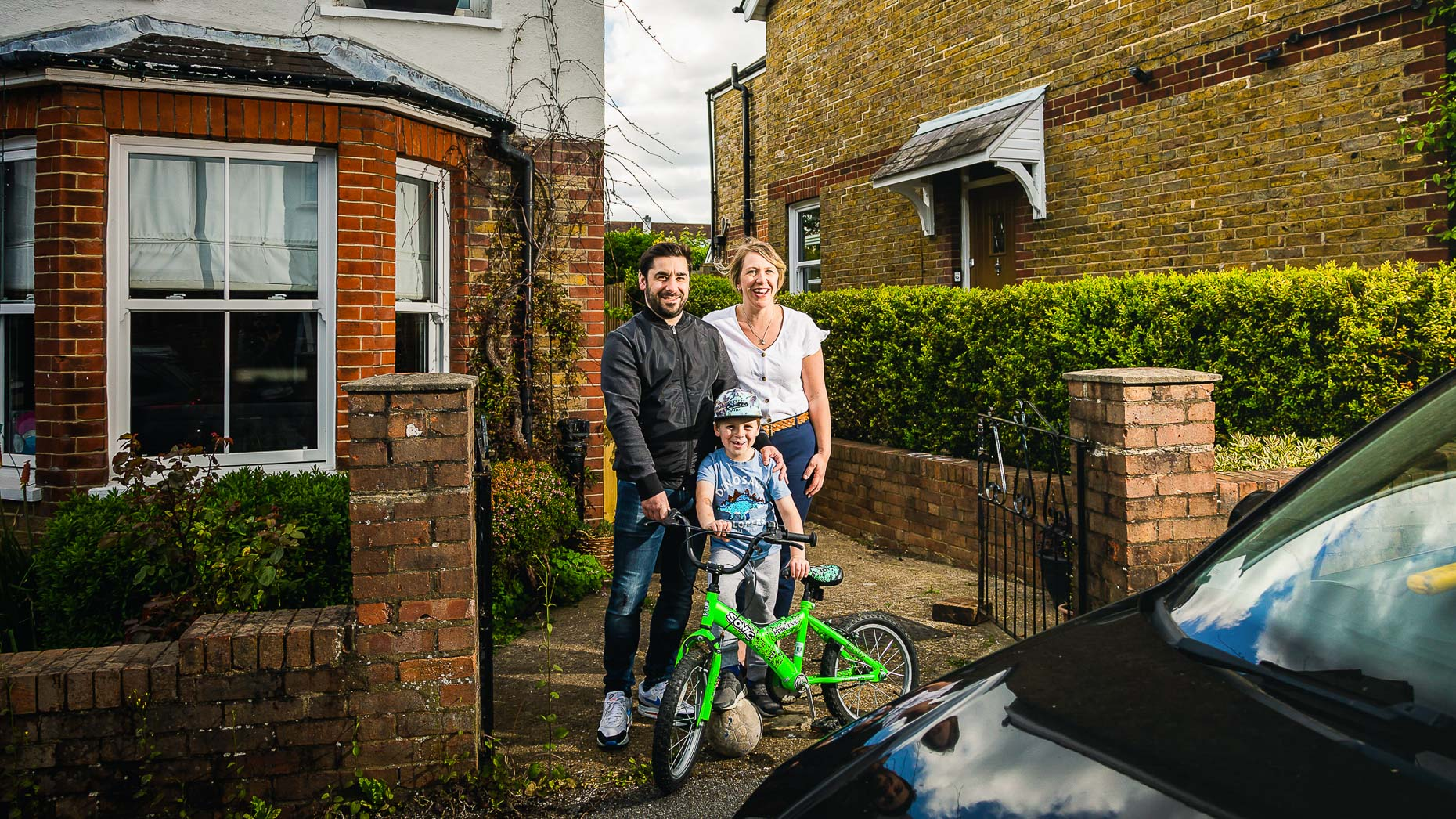Ashtead Doorstep Portraits 18