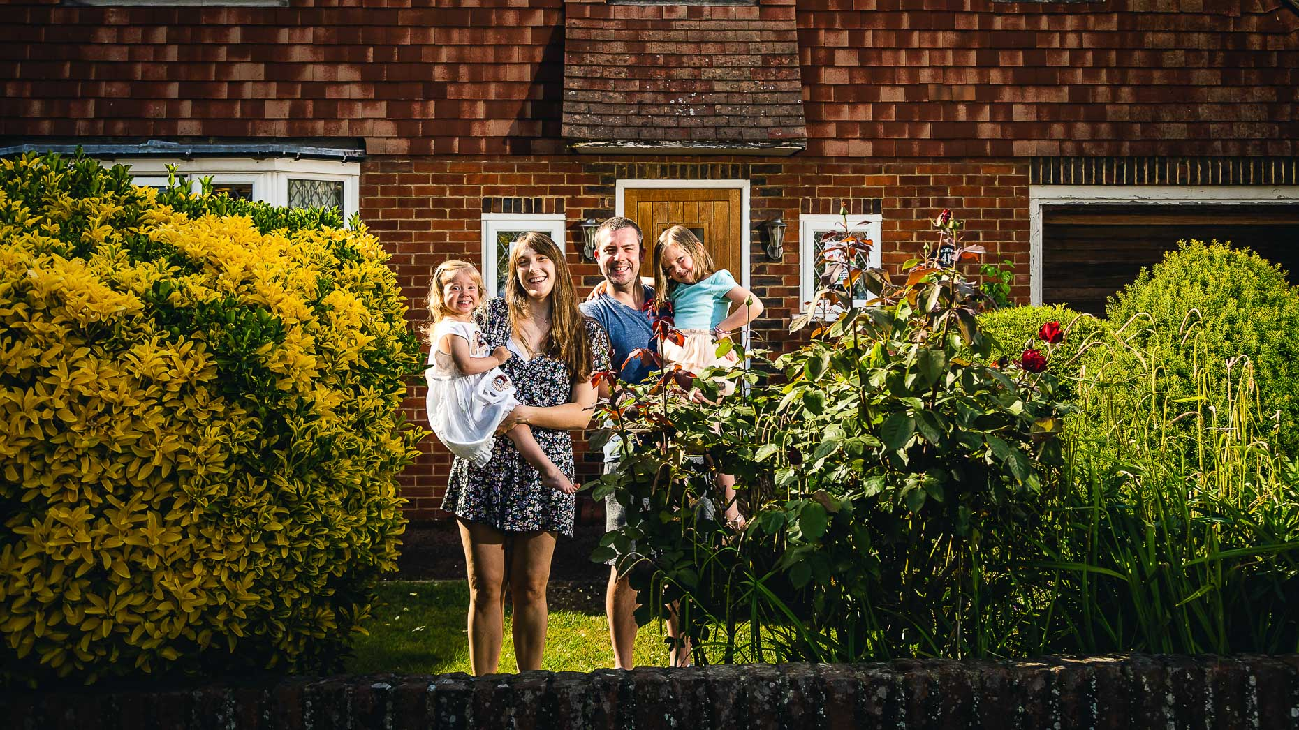 Ashtead Doorstep Portraits 26