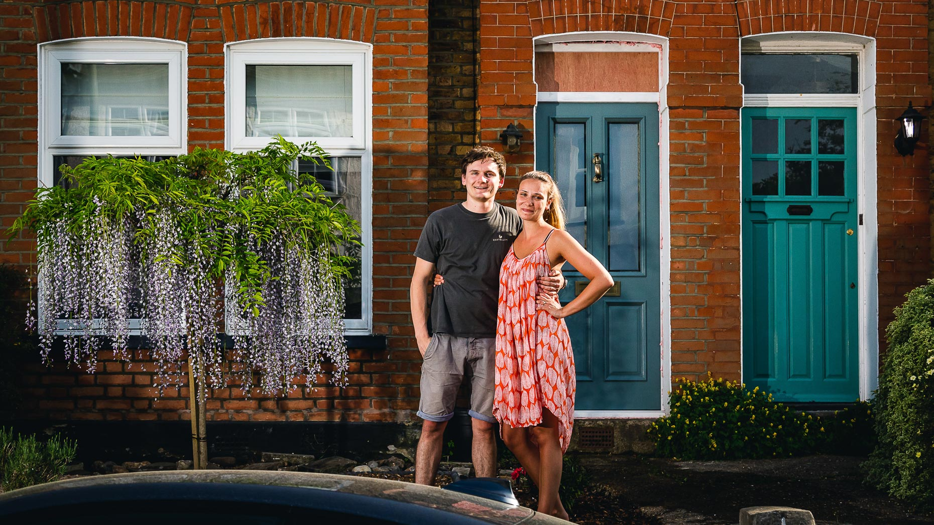Ashtead Doorstep Portraits 29