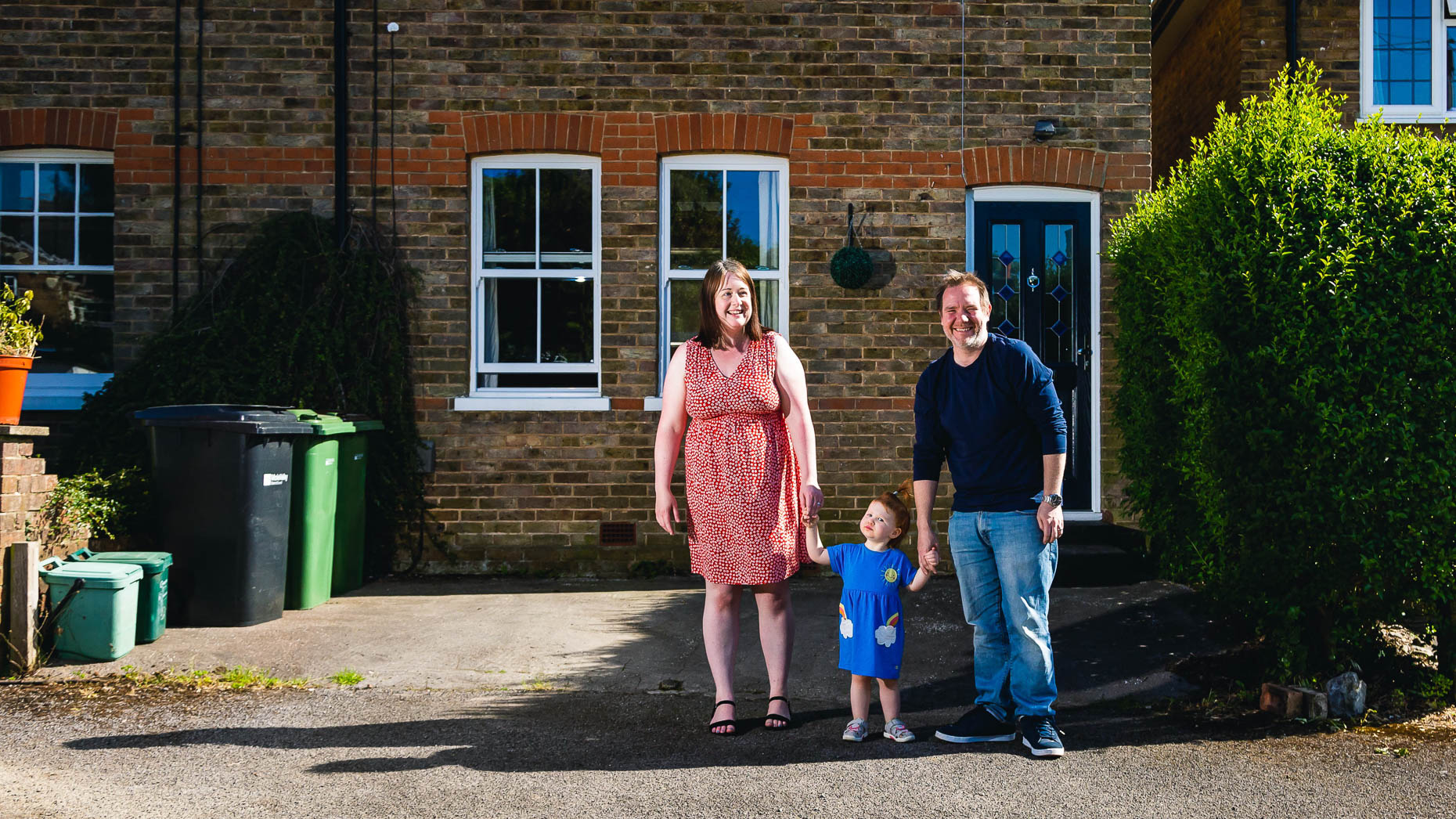Ashtead Doorstep Portraits 35