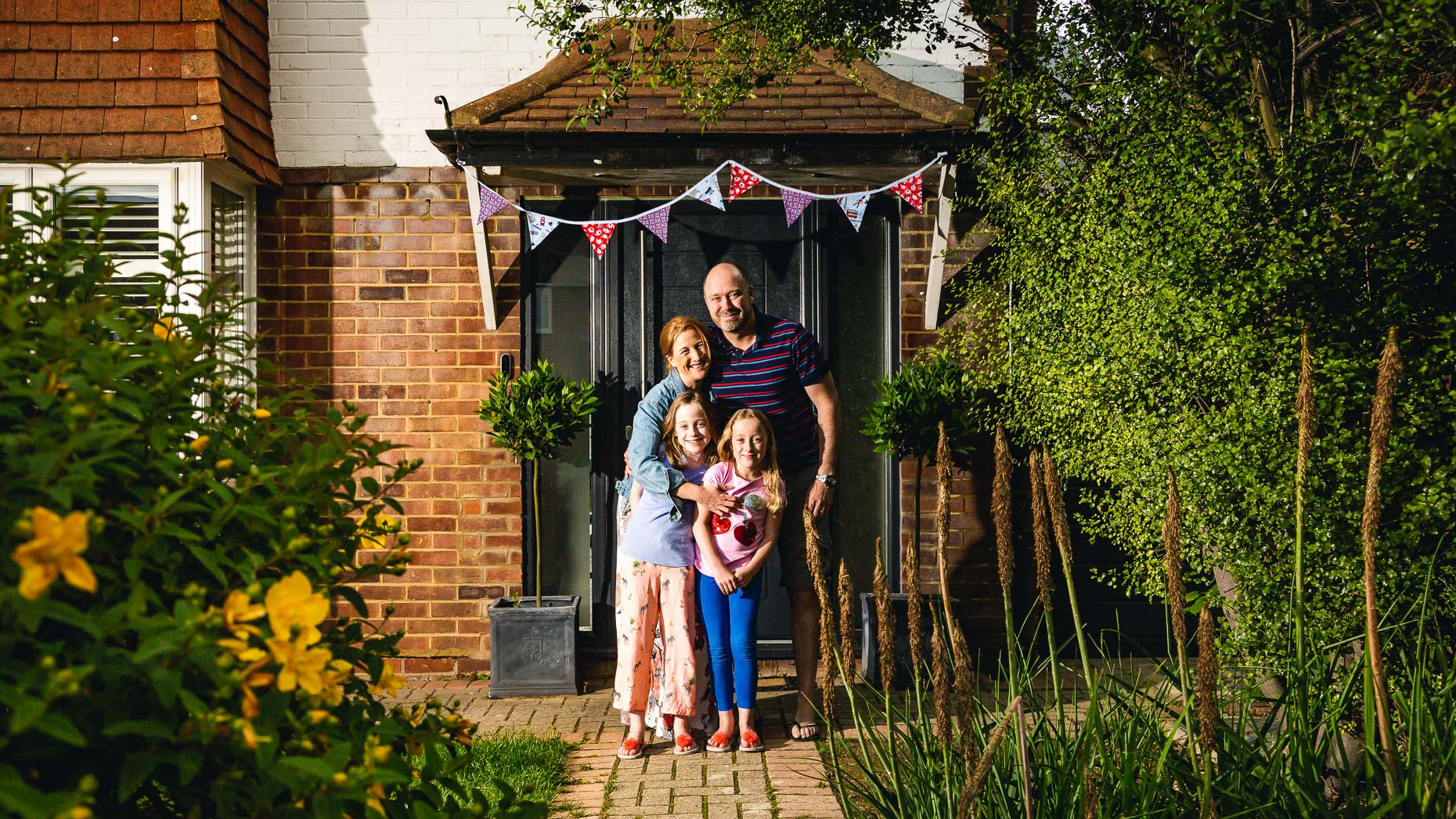 Ashtead Doorstep Portraits 48