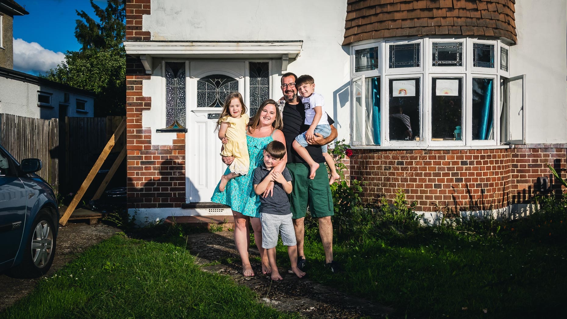 Ashtead Doorstep Portraits 51