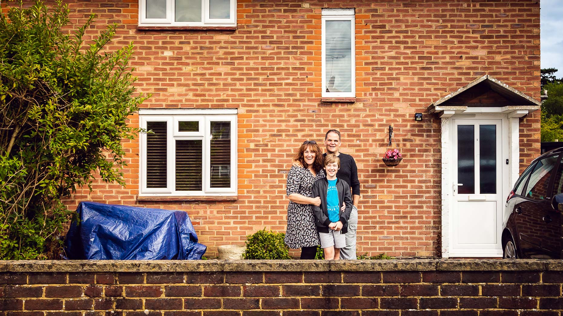 Ashtead Doorstep Portraits 69