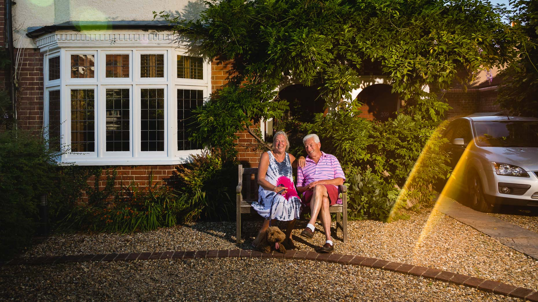 Ashtead Doorstep Portraits 77