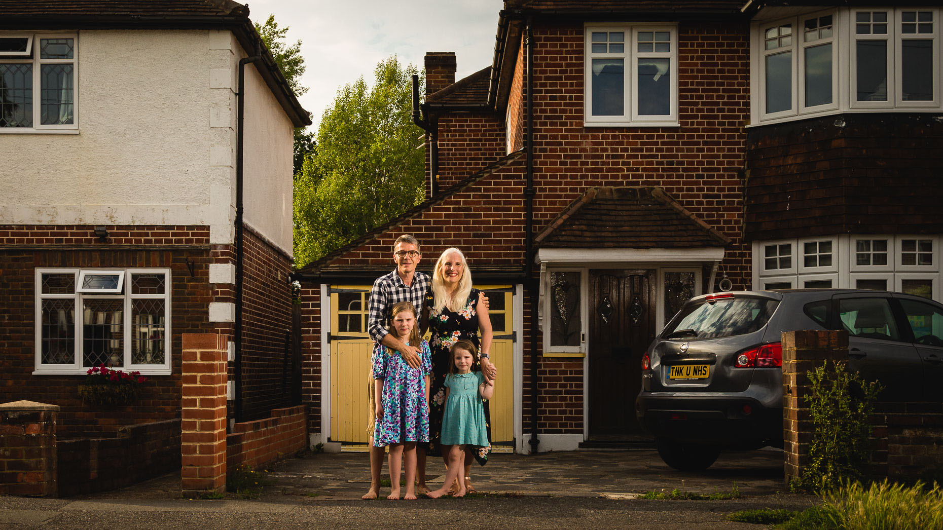 Ashtead Doorstep Portraits 82