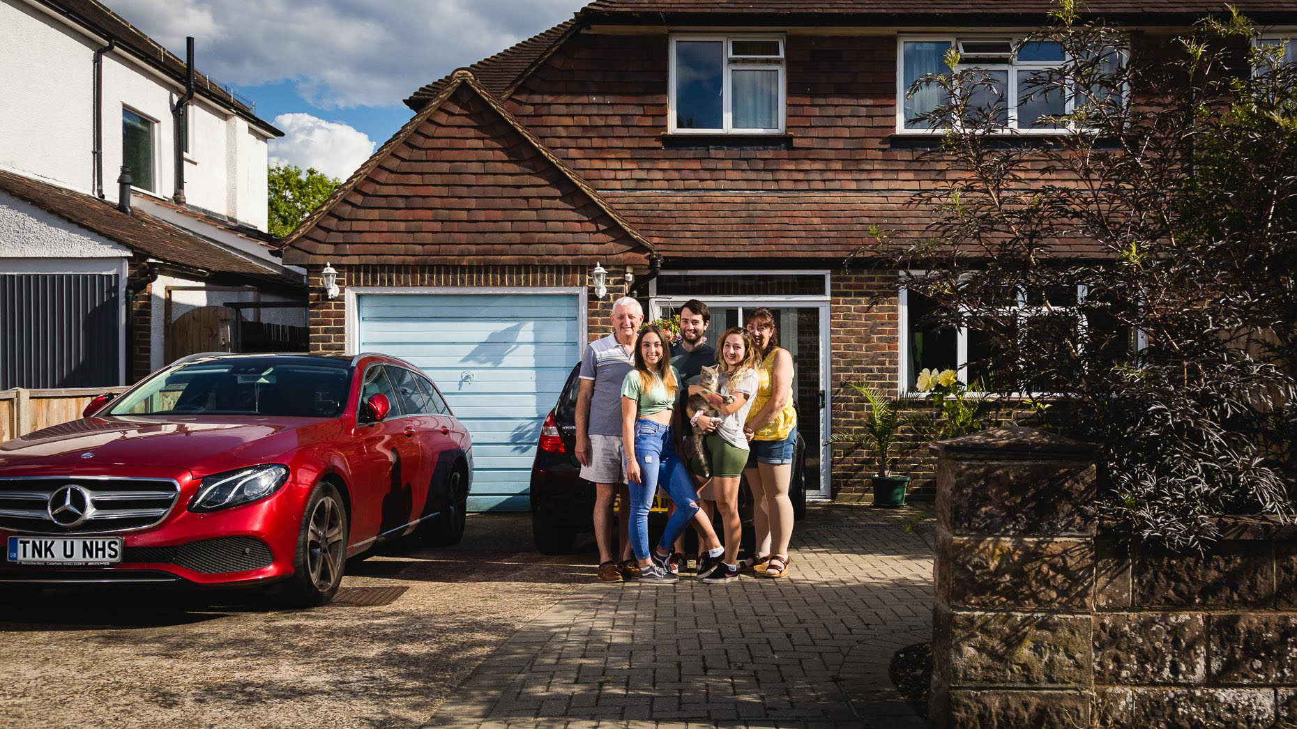 Ashtead Doorstep Portraits 85