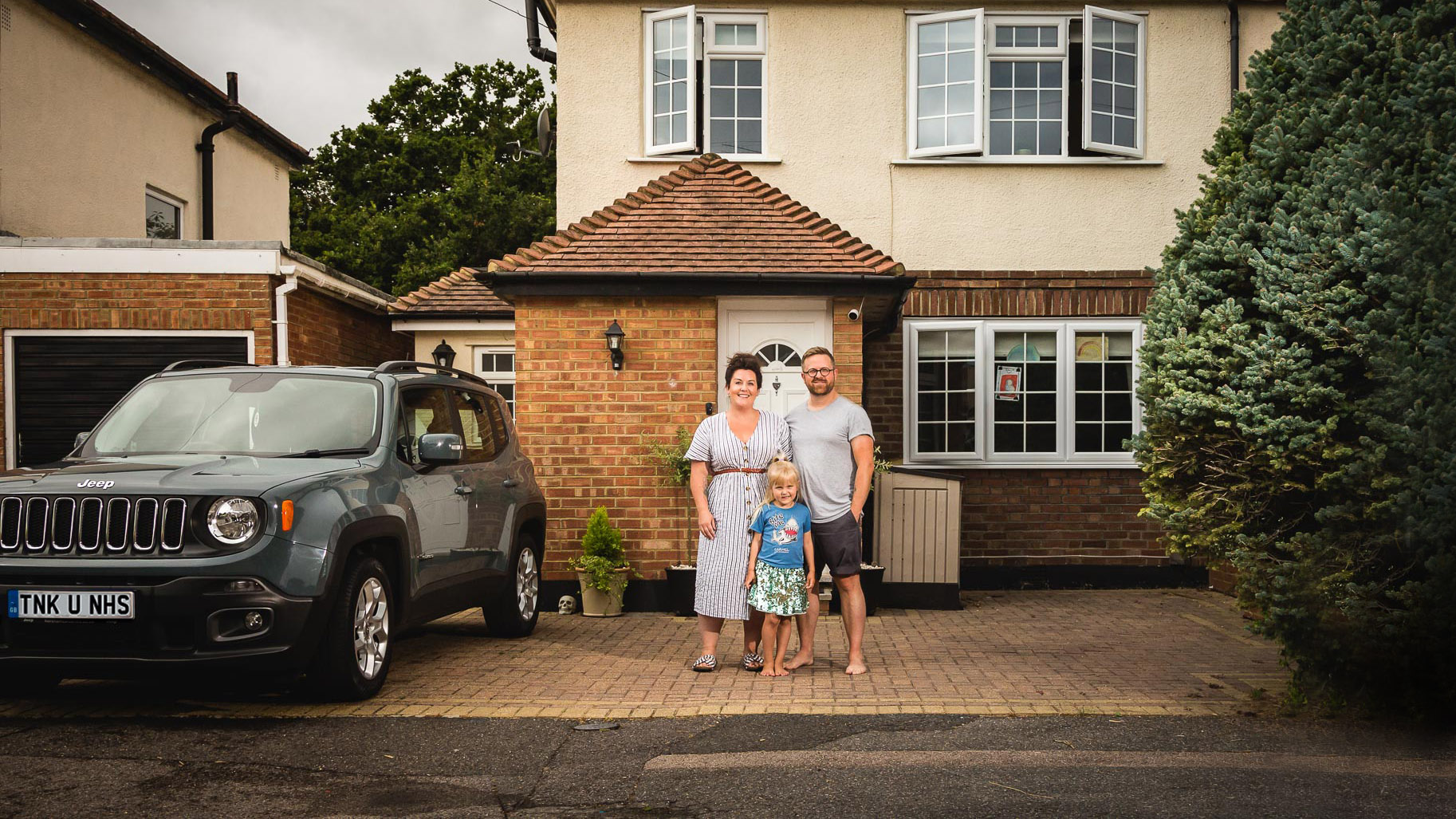 Ashtead Doorstep Portraits 88